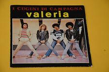 "7"" 45 (NO LP ) SOLO COPERTINA CUGINI DI CAMPAGNA VALERIA ORIG '60 EX"