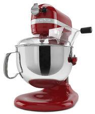 KitchenAid RKP26M1Xer PRO 600 HD STAND MIXER 6 qt BIG RED Pro 6000 Big Large