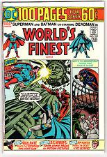 WORLD'S FINEST #227 8.0 OFF-WHITE PAGES BRONZE AGE BATMAN SUPERMAN