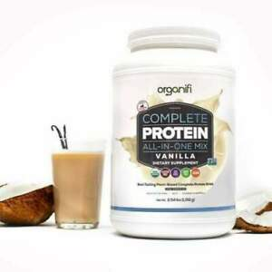 Organifi Complete Protein (2.54 lbs) All - In - One Mix ~ Vanilla Flavored