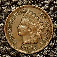 1905 Indian Head Cent ~ VERY FINE (VF) Cndtn ~ $20 ORDERS SHIP FREE!