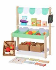 Sun Kleiner Marktstand mit Spiellebensmitteln