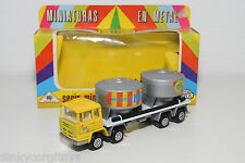 MIRA PEGASO CEMENT CEMENTOS TRUCK GREY YELLOW NEAR MINT BOXED SELTEN RARO