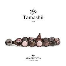 TAMASHII BRACCIALE ORIGINALE TIBETANO TORMALINA ROSA - BHS900-181