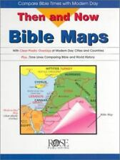 Then and Now Bible Maps: Compare Bible Times with Modern Day (Hardback or Cased