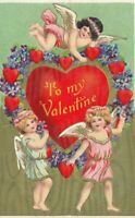 VALENTINE'S DAY - Three Cupids and Many Hearts To My Valentine