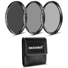 Neewer 77MM ND Filter Set (ND2 ND4 ND8) + MagicFiber Microfiber Cleaning Cloth