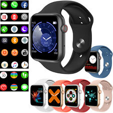 Bluetooth Smart Watch Fitness Tracker Heart Rate Wrist Watch for Android Samsung