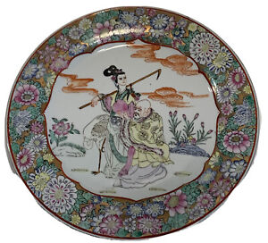 1880-1900 Antique plate hand-painted G.Kr\u00f6ger from c
