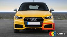 NEW GENUINE AUDI S1 15-17 FRONT BUMPER LEFT N/S AIR GUIDE GRILL GLOSS BLACK