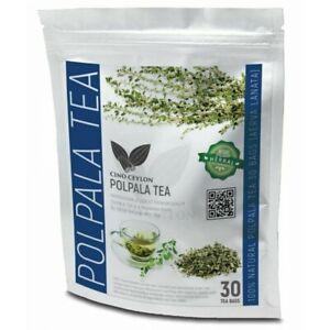 Herbal Polpala Leaves / Aerva Lanata 30 Herbal Tea Bags Kidneys Cleanse