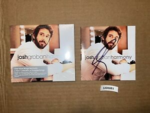 Closer Noël All That Echoes Josh Groban Signed Autographed CD Harmony The Prayer