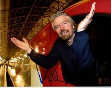 Richard Branson Signed Autographed Photo
