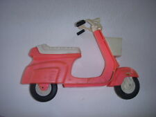 VINTAGE MATTEL BARBIE DOLL PINK MOPED SCOOTER VEHICLE, 1980'S GREAT CONDITION!