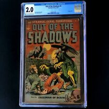 Out of the Shadows #6 (Standard 1952) 💥 CGC 2.0 💥 Hanging Pre-Code Horror PCH