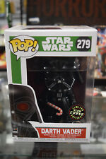 Funko Pop! Star Wars Darth Vader Holiday Chase #279 W/ Soft Protector GITD Glow