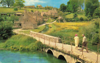 "Rare Vintage Lovely Postcard ""Bibury"" Gloucestershire, England Unposted."