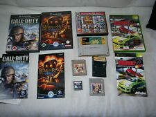Videospiele Sammlung | Konvolut | Game Boy, Snes, Game Cube, XBox, Nintendo 3DS