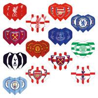 Football Darts Flights Officially Licensed Club Logos - Poly 75micron x9 Flights