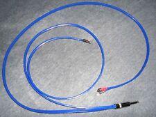 "SPEAKERx2 CABLE 1/4"" STRAIGHT - SPADE F 3' 12 GAUGE CUSTOMLead wire cord Guitar"