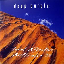 Deep Purple – Total Abandon - Australia '99 on Blue Vinyl 2LP NEW/SEALED