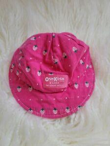 HTF Vintage Oshkosh Strawberry Hat Cap