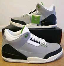 d1bf0bbf6f58 Nike Air Jordan 3 Retro Chlorophyll UK 9 US 10 EU 44 136064 006 (1