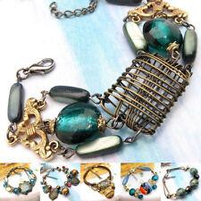Agate Glass Beaded Fashion Bracelets