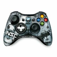 Xbox 360 UNSC Halo 4 Wireless Controller Microsoft OEM Clear Transparent Tested
