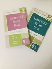Learning from God No 1 and 2 Moody Press 1961 Religious Christian