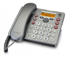 Amplicom PowerTel 58 Senioren Telefon mit Anrufbeantworter 90dB