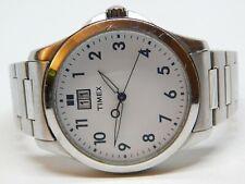 Timex Silver Tone Quartz Analog Men's Watch