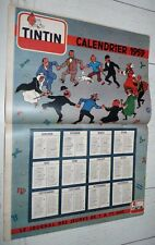 TINTIN 18/12 1958 N°530 HERGE CALENDRIER 1959 RONDE SPECIAL NOËL CRECHE TIBET