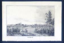 Wolfenbüttel - Lithographie aus Görges 1843