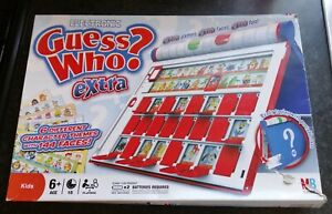 ELECTRONIC GUESS WHO? EXTRA LOVELY CONDITION HASBRO 2008 KIDS FUN