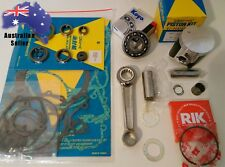 1998-2000 Kawasaki KX 125 Engine Rebuild Kit Con Rod Mains Piston Gaskets Seals