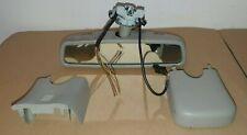 MERCEDES ML 320 W164 INTERIOR REAR VIEW MIRROR & SURROUND TRIMGREY A1648110207