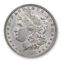 1896 O $1 Morgan Dollar NGC AU 55 About Uncirculated Better Date Original