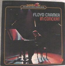 RCA Quadradisc CD-4 Floyd Cramer in Concert By Chet Atkins APD-1-0661 1974