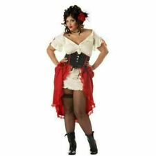 Spanish Cantina Gal Sexy Plus Size Costume for Adults