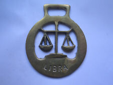 HORSE BRASS for LIBRA STAR SIGN c1970s