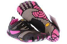 NIB Vibram FiveFingers KMD Sport LS Women's Shoes Grey/Black/Pink 14W3603 Sz 9.5