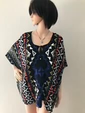LADIES ROCKMANS STATEMENT PONCHO JUMPER TOP SIZE S-M NEW WITH TAG CLEARANCE