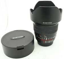 Samyang 10mm F2.8 ED AS NCS CS / Rokinon 10mm F2.8 Lens
