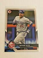 2018 Bowman Baseball Base Card #33 - Anthony Rizzo - Chicago Cubs