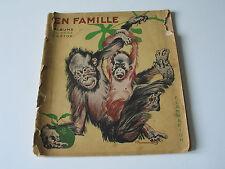 En famille Albums du Père Castor, Édition originale de 1934