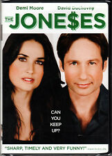 THE JONESES Movie on DVD with DEMI MOORE and DAVID DUCHOVNY Family DRAMA Comedy!