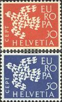 Schweiz 736-737 (kompl.Ausgabe) gestempelt 1961 Europa