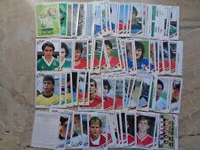 Lot of 90 different verschiedene Panini sticker Bilder WC WM 1986 86 Mexico