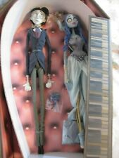 "Tim Burton's Corpse Bride Dolls - Victor and Emily 16"" in Coffin - Jun Planning"